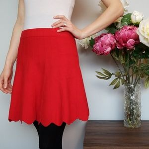 Candie's Skirts - CANDIES, red skirt!